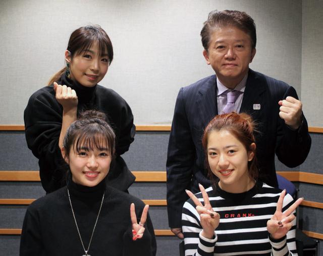 """画像: 2019年は""""E.G.POWER""""で! 山口乃々華、武部柚那(E-girls)"""