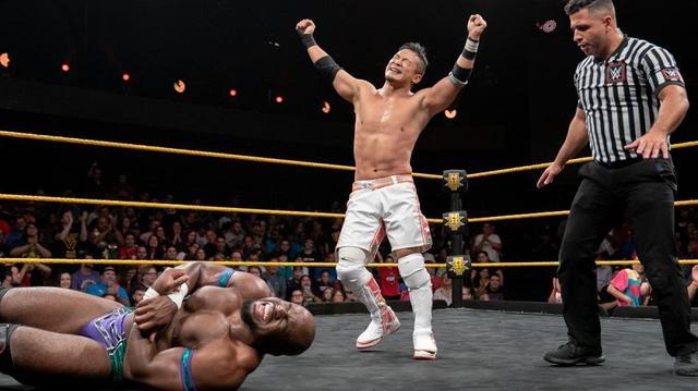 画像: KUSHIDAがクルーズ撃破でNXT 6連勝の快進撃【WWE NXT】