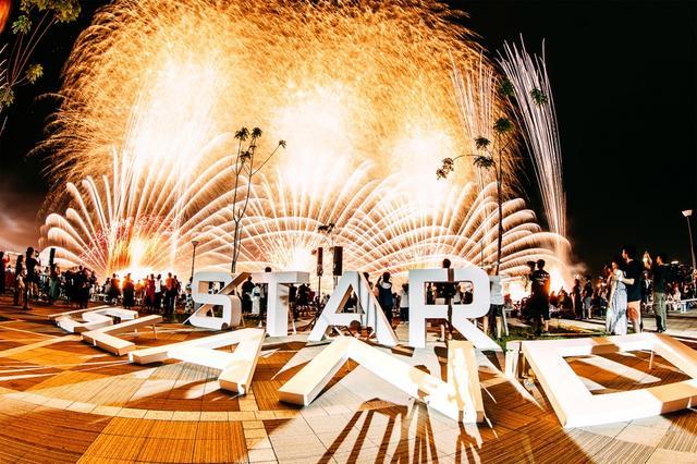 画像: エンターテイメントな花火ショー「STAR ISLAND」開催!大輪の花火に1万5000人がワクワク