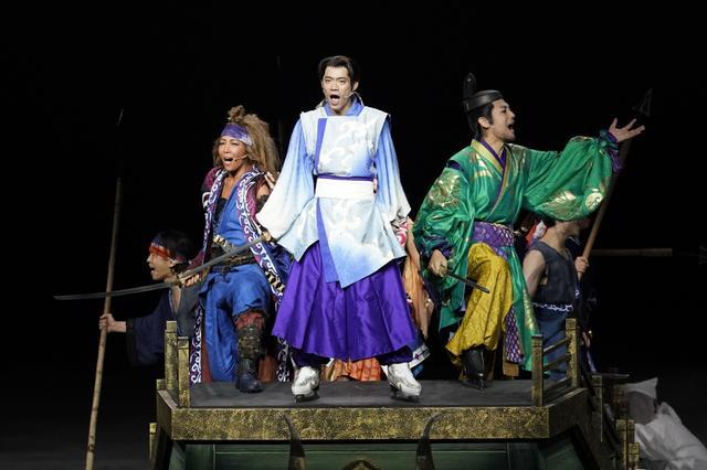 画像: 圧巻の氷上エンターテインメント「氷艶 hyoen2019」が開幕!生歌披露の髙橋「腹をくくった」