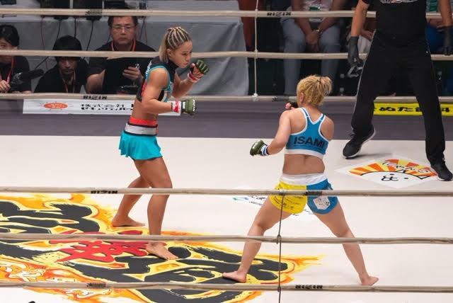 画像: ハム・ソヒが前澤に壮絶TKO勝ち。山本美憂に対戦アピール【7・28 RIZIN.17】