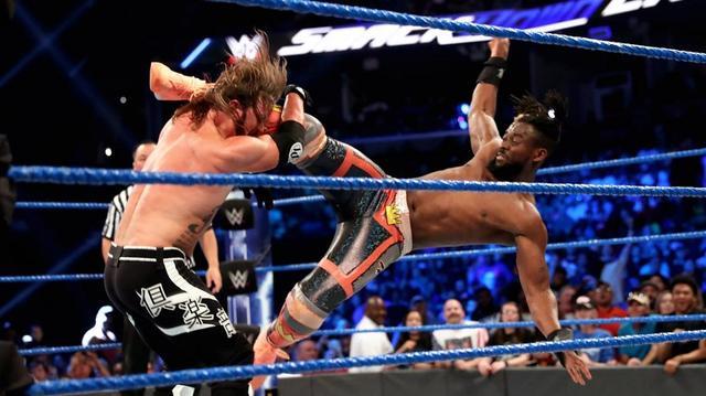 画像: 王者対決はキングストンがAJスタイルズに勝利【7・30 WWE】