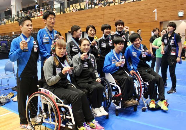 画像: いざ、パラリンピックへ!国内初のパラ卓球国際大会で世界のアスリートが集結