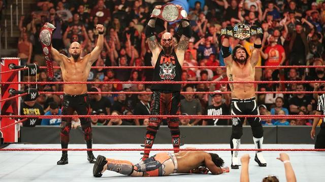 画像: AJスタイルズが前哨タッグ戦でリコシェ軍に勝利【8・5 WWE】