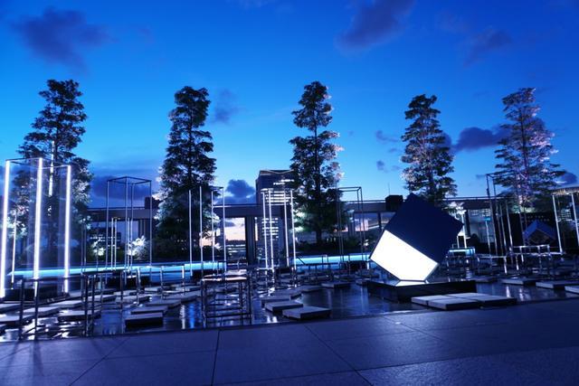 画像: 銀座の屋上庭園で光と音を奏でよう/8月6日(火)の東京イベント