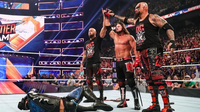 画像: AJスタイルズがリコシェを退けて王座防衛【8・11 WWE】