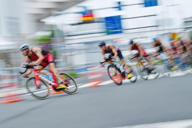 画像: 東京・お台場 トライアスロン 2020テストイベント 【アフロスポーツ プロの瞬撮】