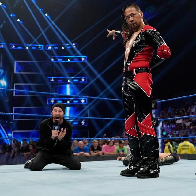 画像: 中邑真輔が王座挑戦を宣言したミズにキンシャサ2発【8・27 WWE】