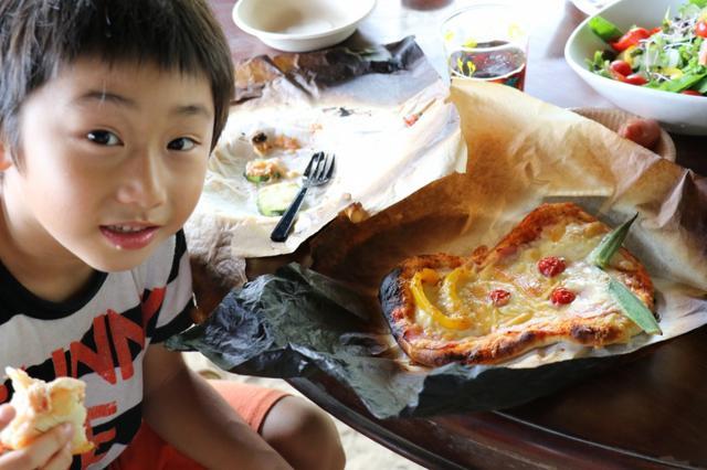 """画像: 夏の終わりは""""キャベツの植え付けと手作りピザ作り"""""""