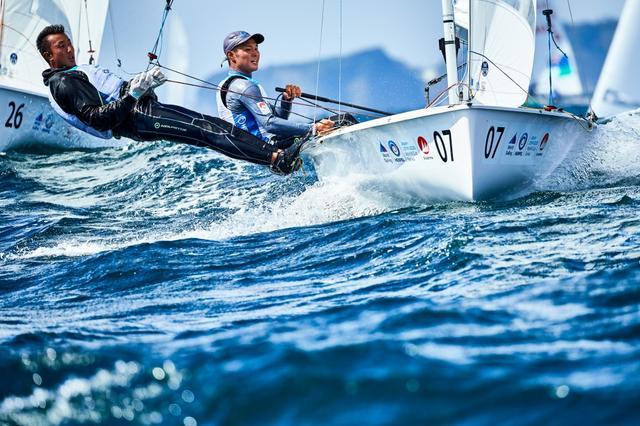 画像: セーリング・海との闘い【アフロスポーツ プロの瞬撮】