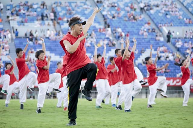 画像: EXILEらと中学生がダンスでエール! ラグビー日本代表壮行試合