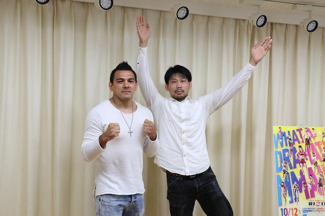 画像: 元UFCファイター中村K太郎が初参戦で柔術の強豪マルコスと対戦【10・12 RIZIN.19】