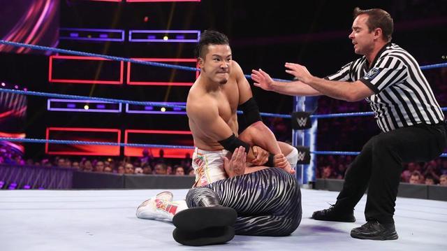 画像: KUSHIDAが205 Liveに電撃出場。タッグ戦で戸澤に勝利【9・10 WWE】
