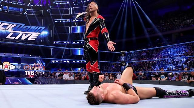 画像: 中邑がミズの挑発に怒り心頭。キンシャサ弾でKO【9・10 WWE】
