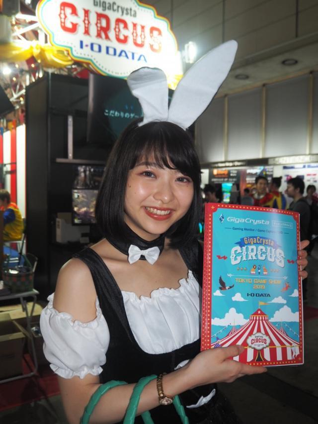 画像: 【東京ゲームショウ2019】モンハンも龍が如くも気になるけれど、やっぱりコンパニオンさんが気になります