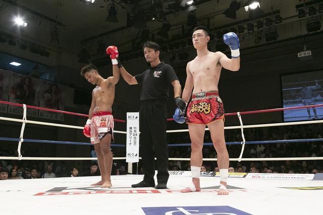 画像: KOされた大沢が反則勝ち。横山は予告通りに里見をKO【9・16 K-1 KRUSH】