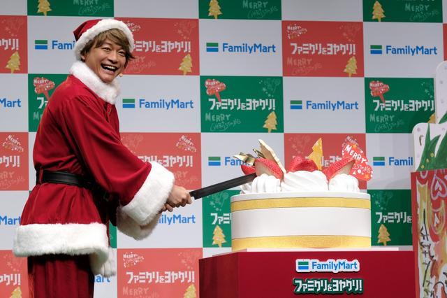 画像: 香取慎吾、クリスマスは「子どもと奥さんと...」!? ファミマと本気のケーキ