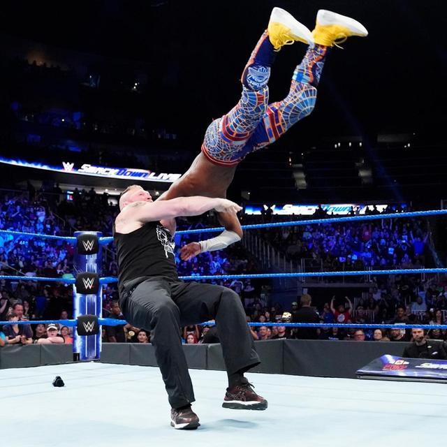 画像: 10・5「スマックダウン」でキングストンvsレスナーのWWE王座戦【9・17 WWE】