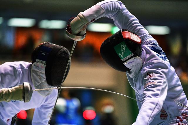 画像: フェンシング駒沢・エペ 【アフロスポーツ プロの瞬撮】