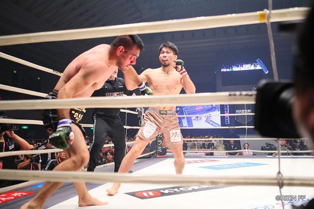 画像: 初参戦の中村K太郎が壮絶KO勝ち。Bellatorとの対抗戦に名乗り【10・12 RIZIN.19】