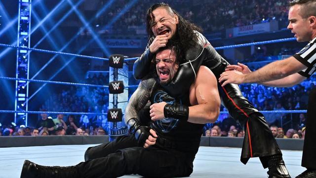 画像: 中邑がレインズ相手に反則防衛。タッグ戦ではブライアンに完敗【10・18 WWE】