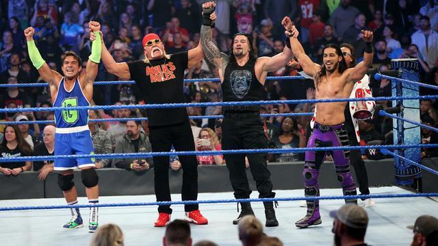 画像: チーム・ホーガンが前哨戦でチーム・フレアーに勝利【10・25 WWE】