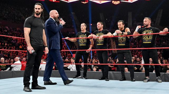 画像: 迷えるロリンズをトリプルHがNXTに勧誘【11・4 WWE】