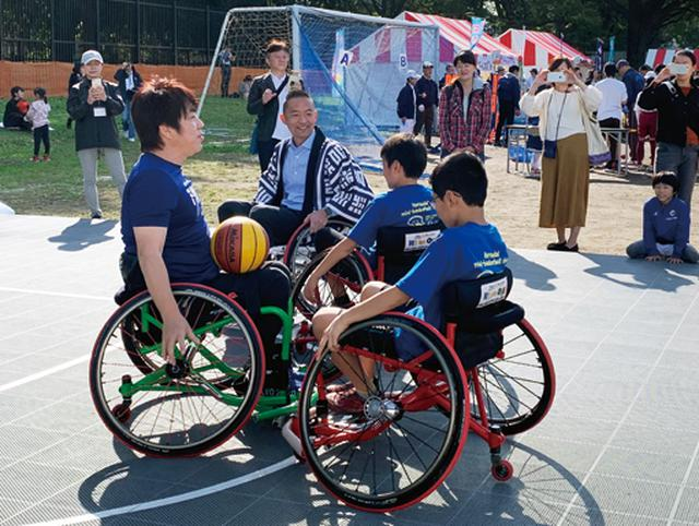画像: 車いすバスケにみんなが夢中!『CHALLENGED SPORTS 夢の課外授業』リポート