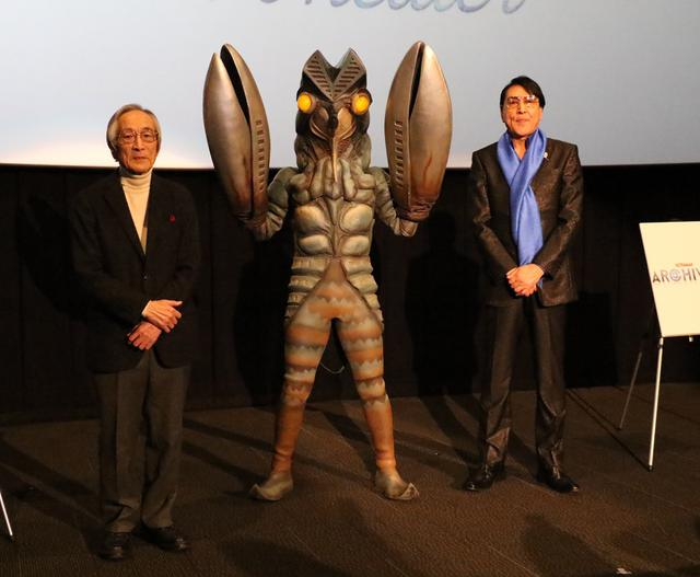 画像: ウルトラマン『侵略者を撃て』トーク&上映会にバルタン星人乱入