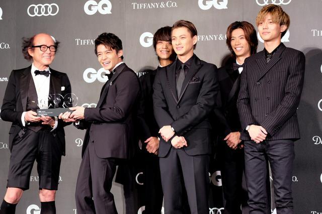 画像: キンプリが「GQ MEN OF THE YEAR」受賞!ジャニーズとしては初