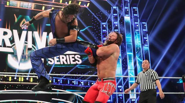画像: 中邑真輔らWWE3ブランド対抗の王者対決はNXTが勝利【11・24 WWE】