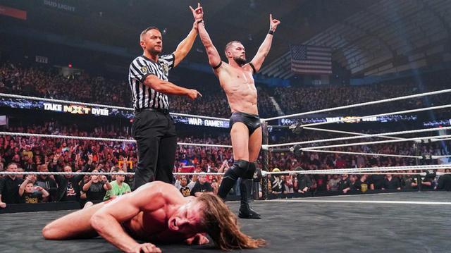 画像: ベイラーがリドル制してNXT復帰戦を勝利で飾る【11・23 WWE】