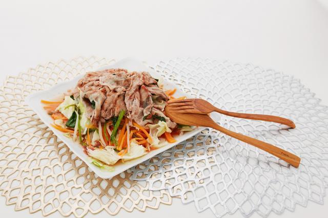 画像: 豚肉と野菜たっぷりレンジ蒸し【酢酸菌を摂ろう!花粉症対策レシピ】