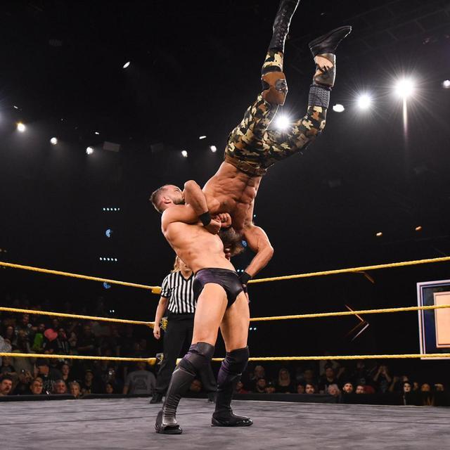 画像: ベイラーがチャンパと初対決。1916で豪快勝利【WWE NXT】