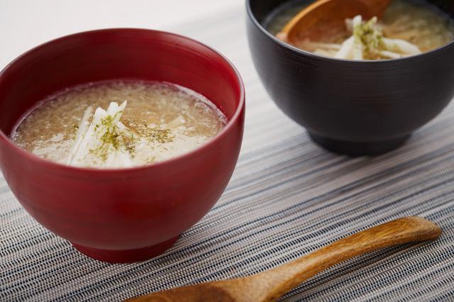 画像: ながいものトロトロ汁【酢酸菌を摂ろう!花粉症対策レシピ】