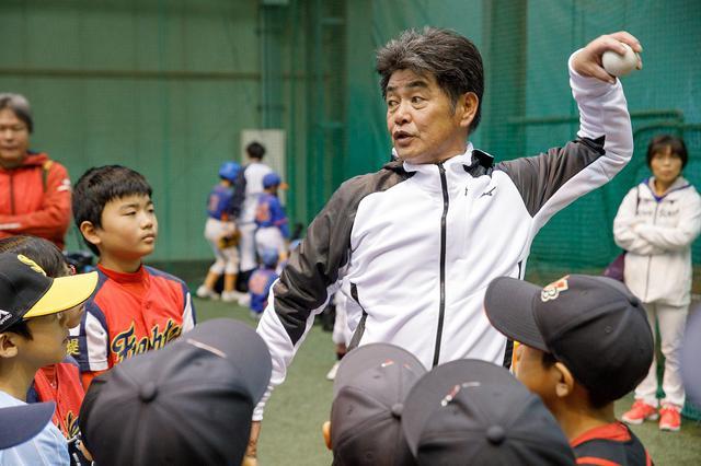 画像: 工藤監督が子供たちにメッセージ「見て真似をして、そして練習するしかない」