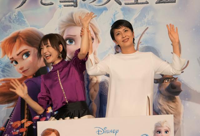 画像: 松たか子と神田沙也加、大ヒット『アナ雪2』初鑑賞は「つい先ほど2人で一緒に」