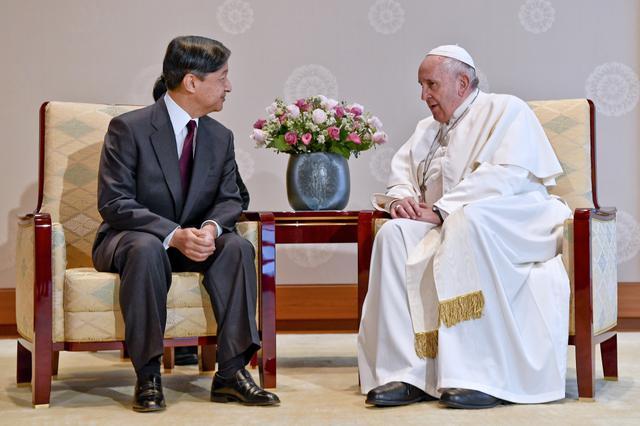 画像: ローマ教皇が38年ぶりに来日【NEWS HEADLINE】
