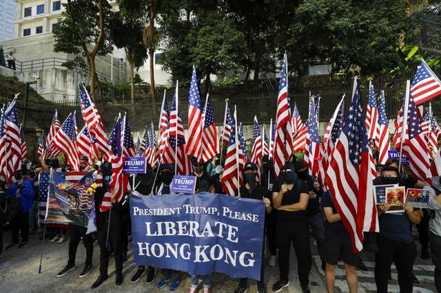 画像: 米で香港人権法成立。中国は報復【NEWS HEADLINE】