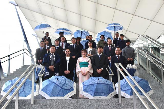 画像: 日本初の傘シェリングサービス、東京駅でスタート「雨の日のインフラ」目指す