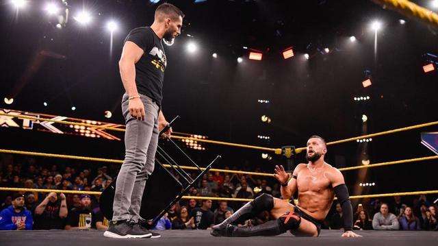 画像: ベイラーがNXT王座奪取に失敗!ガルガノとの遺恨再燃【WWE NXT】