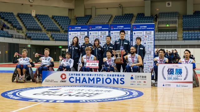 画像: 車いすラグビー日本選手権、発足1年の新チームTOKYO SUNSが初優勝!パラ後に続くチーム作りたい