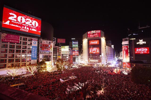 画像: 渋谷のカウントダウンイベント、約10万8500人が新年祝う