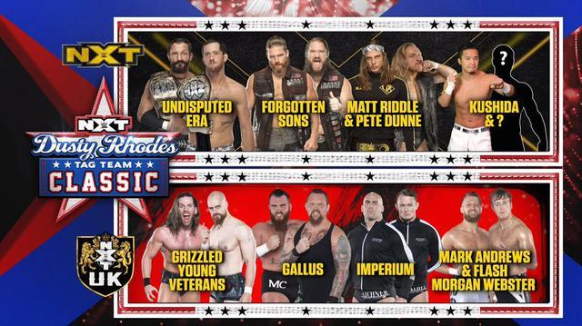 画像: KUSHIDAが「ダスティ・ローデス・タッグチームクラシック2020」に出場決定【WWE NXT】