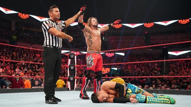 画像: AJスタイルズが戸澤をRKO葬!因縁のオートンを挑発【1・6 WWE】