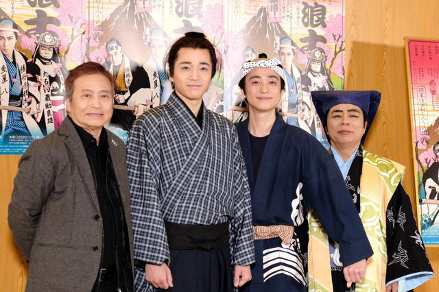 画像: 戸塚祥太と福田悠太が討ち入り!『阿呆浪士』初日