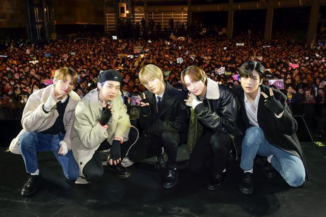 画像: 韓国発のグローバルスーパールーキーTOMORROW X TOGETHERに2000人が熱狂!
