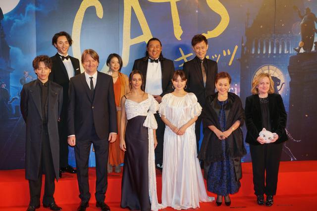 画像: 映画『キャッツ』来日イベントで日本語版・葵わかな、山崎育三郎らが絶賛「他では見たことない世界」