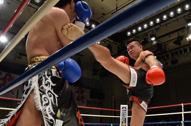 画像: ゴンナパーが横山に判定勝利で2度目の防衛。K-1王座への挑戦を表明【1・25 Krush】
