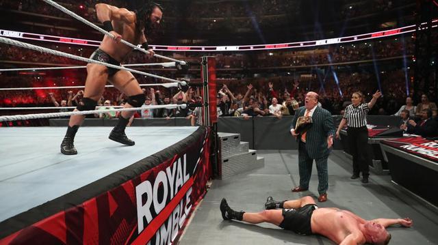 画像: 男子ロイヤルランブルでマッキンタイアが優勝【1・26 WWE】